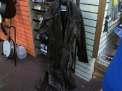 WILSONS LEATHER MAXIMA Coat/Jacket BROWN LEATHER TRENCHCOAT